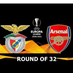 Zaczynamy zmagania w fazie pucharowej LE: Benfica vs Arsenal