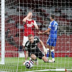 Gdzie rywal nie może, tam Arsenal pomoże... AFC 0-1 Everton