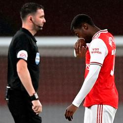 Nketiah zawodzi, osłabiony Arsenal remisuje z Leicesterem 1-1