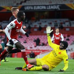 Sprawa awansu otwarta. Arsenal - Slavia 1-1