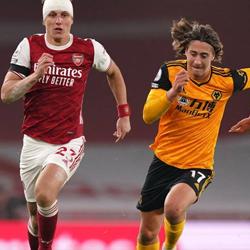 Kryzys formy Arsenalu, porażka 1-2 z Wolves
