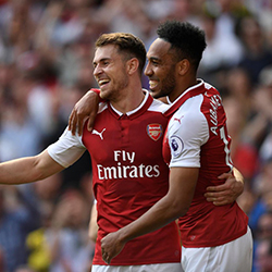 Aubameyang i Ramsey nominowani do nagród w Premier League