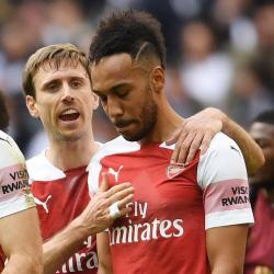 Aubameyang marnuje karnego w końcówce, Spurs 1-1 Arsenal