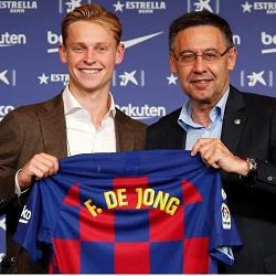 De Jong: Chciałem podążać drogą Overmarsa