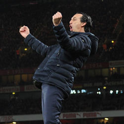 Unai Emery po meczu z Newcastle