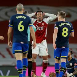 Kolejna czerwona kartka. Arsenal 1-1 Southampton