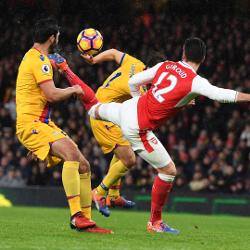 Giroud dziękuje fanom Arsenalu