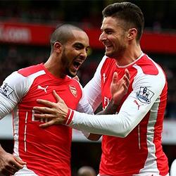O półfinał Pucharu Ligi: Arsenal vs West Ham