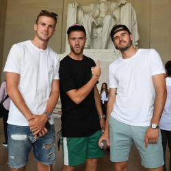Galeria: Piłkarze odwiedzają National Mall w D.C.