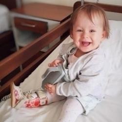 Kanonierzy charytatywnie: Pomoc dla małej Michaliny