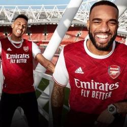 Oficjalnie: Nowe stroje Arsenalu