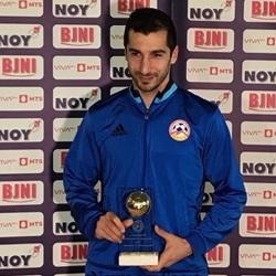 Mchitarian piłkarzem roku w Armenii