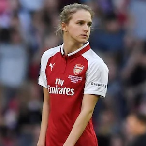 WSL: Arsenal 11:1 Bristol. Sześć goli i cztery asysty Miedemy!