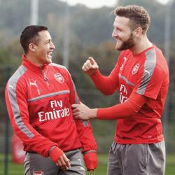 Alexis i Mustafi w niedzielę powrócą do treningów