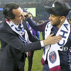 Neymar w superlatywach o Emerym
