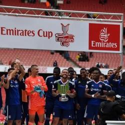 Lyon wygrywa Emirates Cup: Arsenal - Lyon 1-2