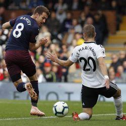 Ramsey z kolejnym wyróżnieniem za gola z Fulham