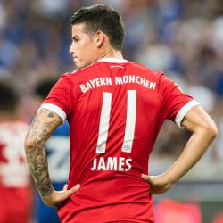 James chce zostać w Bayernie