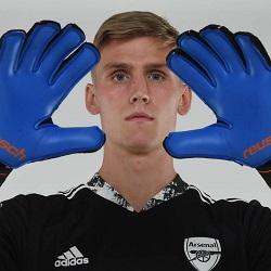 Galeria: Runarsson w koszulce Arsenalu