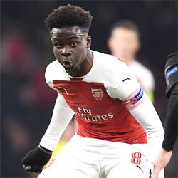 Saka: Marzyłem, aby zagrać w pierwszej drużynie Arsenalu