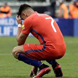 Sanchez z drobnym urazem