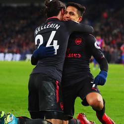 Emocjonujące derby: Crystal Palace 2-3 Arsenal