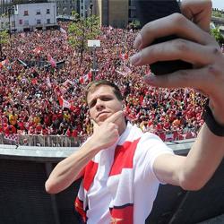 Szczęsny: Chciałem być jak Gerrard, Scholes czy Totti