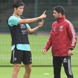 Arteta: Dla Tomiyasu gra w Arsenalu to spełnienie marzeń