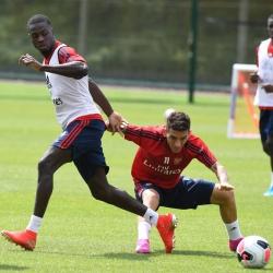 Galeria: Pierwszy trening Pepe z całą drużyną