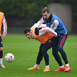 Galeria: Trening przed meczem z Liverpoolem