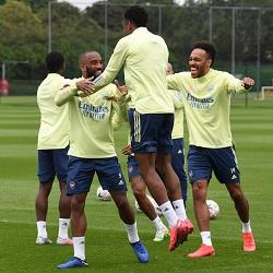Galeria: Trening przed meczem z Leicesterem