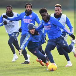 Galeria: Trening przed meczem z Manchesterem United