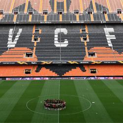 Wyjściowe jedenastki: Valencia vs Arsenal