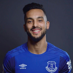 Walcott po transferze do Evertonu