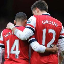 Wenger o Walcottcie i Giroudzie