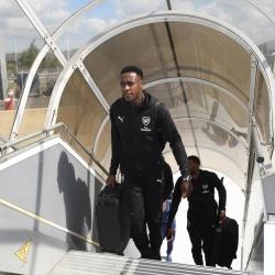 Galeria: Zawodnicy lecą do Baku