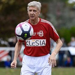 Arsène Wenger zagrał w memoriale Aldo Platiniego