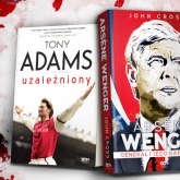 Tony Adams i Arsene Wenger. Rusza przedsprzedaż książek o legendach Arsenalu!