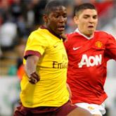Afobe może zagrać przeciwko The Gunners!