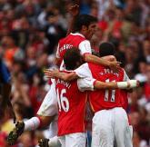 Tapeta - skład Arsenalu na sezon 2007/2008