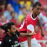 Bramka Chamakha - Arsenal 1-1 Milan!