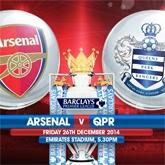 Garść statystyk: Arsenal vs QPR