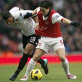 Niesamowite zawody Nasriego, Arsenal 2-1 Fulham
