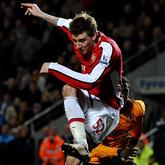 Bendtner zbyt drogi również dla Hull City