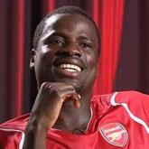 Eboue szczęśliwy w Arsenalu