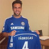 Mourinho: Fabregas pokochał Chelsea
