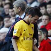 Fabregas nie zagra na Old Trafford