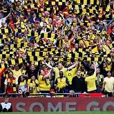 Galeria: Fani świętują na Emirates wygraną w FA Cup