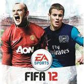 Wilshere na okładce FIFA 12
