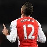 Olivier Giroud piłkarzem kolejki